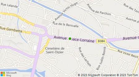 Plan d'accès au taxi Denizet Christelle
