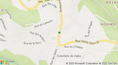 Plan d'accès au taxi Bentz Rémy