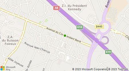 Plan d'accès au taxi Juillet Francois