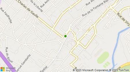 Plan d'accès au taxi Hassaim Patrick