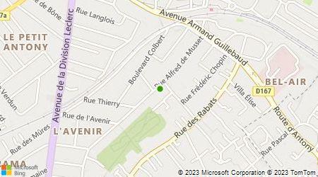 Plan d'accès au taxi Alves Antonio