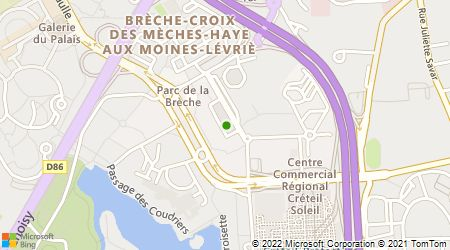 Plan d'accès au taxi Abbaye Taxis du Val de Marne