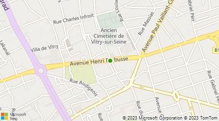 Plan d'accès au taxi Bessa Mehenna