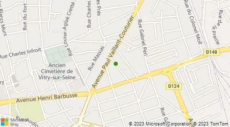 Plan d'accès au taxi GEOTRANS