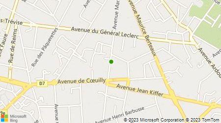 Plan d'accès au taxi Allo Bonjour Taxi Jo 94