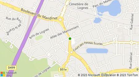 Plan d'accès au taxi A.B Frédéric Taxi (Allo Bonjour Frédéric Taxi)