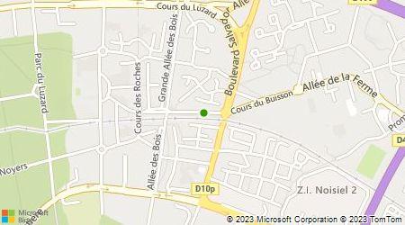 Plan d'accès au taxi Abilio Taxi