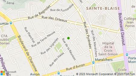 Plan d'accès au taxi Al Moutez Sce Transports Assis Accom