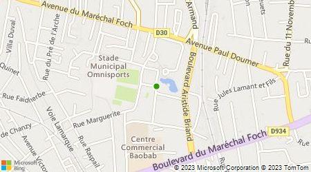 Plan d'accès au taxi Dufresne Reynald
