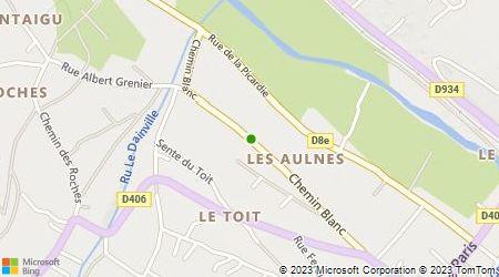 Plan d'accès au taxi Accès Caillet Taxi
