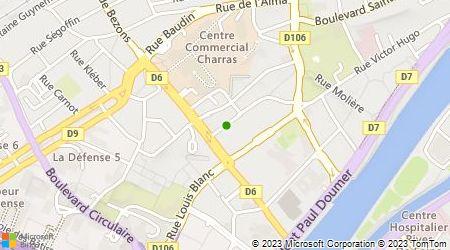 Plan d'accès au taxi Taxi Michel