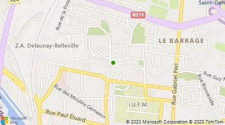 Plan d'accès au taxi Langlois Fabrice