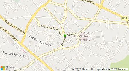 Plan d'accès au taxi Abas Taxi Fabien