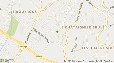 Plan d'accès au taxi Taxi Christophe