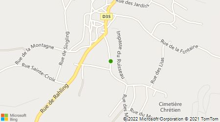 Plan d'accès au taxi Bernard Alain