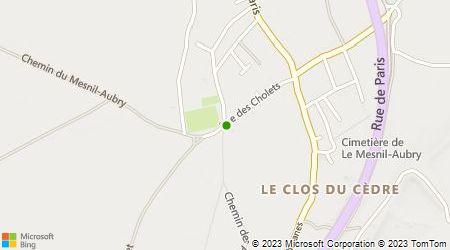 Plan d'accès au taxi A Allo Audouard Taxi