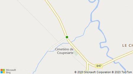 Plan d'accès au taxi AAIP'Taxi Pascal Fouesneau