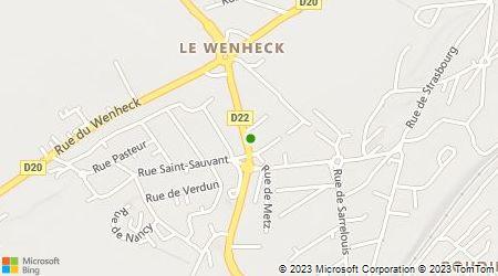 Plan d'accès au taxi Allo Taxi Bianchi René