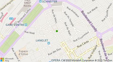 Plan d'accès au taxi Les Taxis du Vignoble Champenois