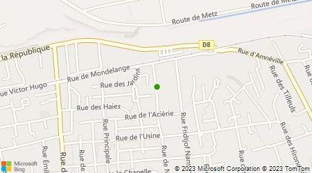 Plan d'accès au taxi Taxi Amneville Les Thermes