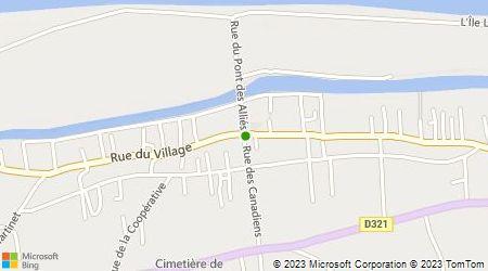 Plan d'accès au taxi ABC Taxi Louviers