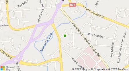 Plan d'accès au taxi Pilon Pascal