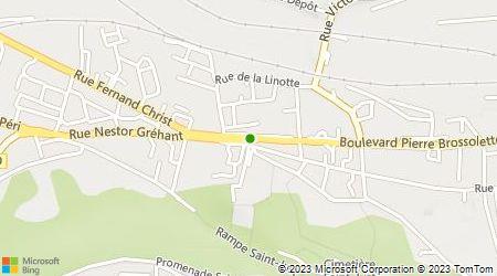 Plan d'accès au taxi Aisne Taxi Lharch