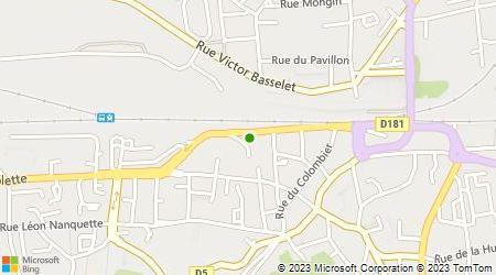 Plan d'accès au taxi Betka Abdel
