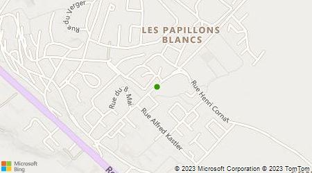 Plan d'accès au taxi Taxis Cherbourg octeville