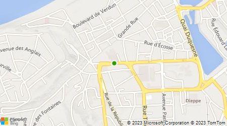 Plan d'accès au taxi Dieudegard Benoit