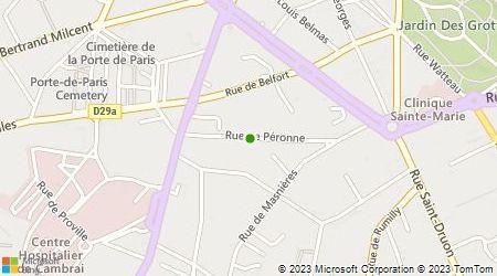 Plan d'accès au taxi Duhaubois Christophe