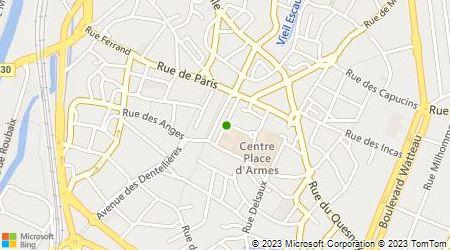 Plan d'accès au taxi Taxi Gourgeot