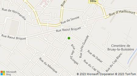 Plan d'accès au taxi Deruy Gilles