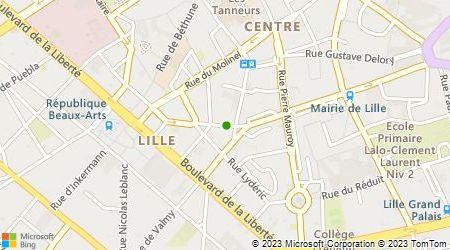 Plan d'accès au taxi Lillotaxi