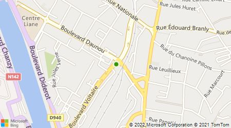 Plan d'accès au taxi Allo Taxi Philippe
