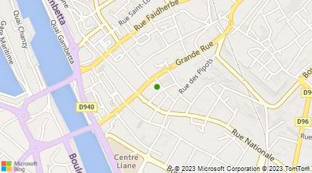 Plan d'accès au taxi Allo Boulogne GIE Taxi