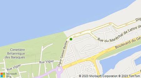 Plan d'accès au taxi Guche Jean Michel