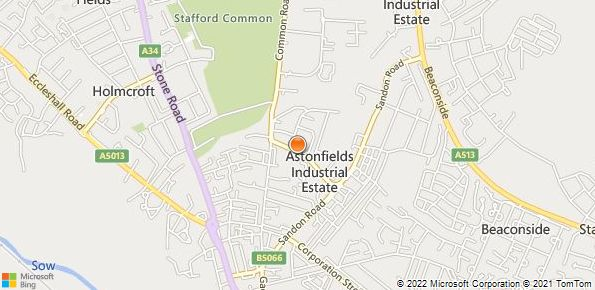 Map of Stafford Land Rover