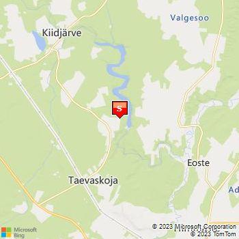 Kliki kaardil detailsema kaardi saamiseks.