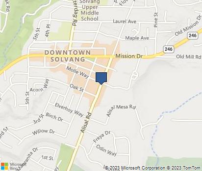 Zip Code 93464   Homefacts Solvang Ca Map on