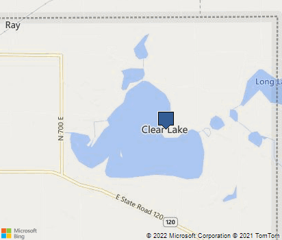 Clear Lake Indiana Map.Clear Lake In In Steuben County Homefacts
