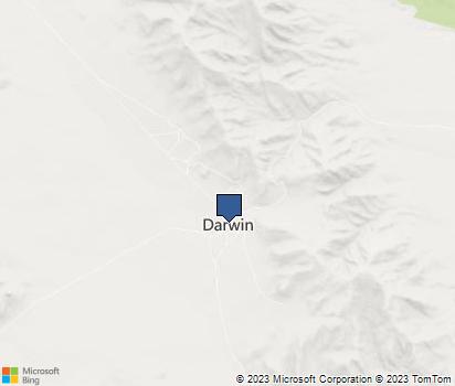 Darwin California Map.Darwin Ca In Inyo County Homefacts