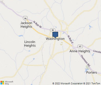 Washington Georgia Map.Washington Ga In Wilkes County Homefacts