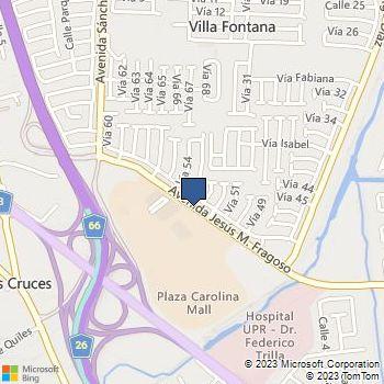 Map of Best Buy at Ave Fragoso Villa Fontana, Carolina, PR 00983