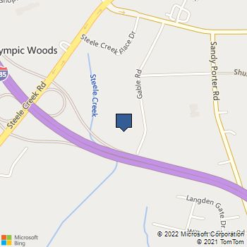 Map of Best Buy Warehouse at 4715 Entrance Dr, Charlotte, NC 28273