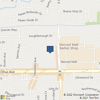 Map of Best Buy at 3125 R Street, Merced, CA 95348