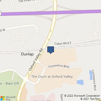 Map of Best Buy at 310 Commerce Blvd, Fairless Hills, PA 19030
