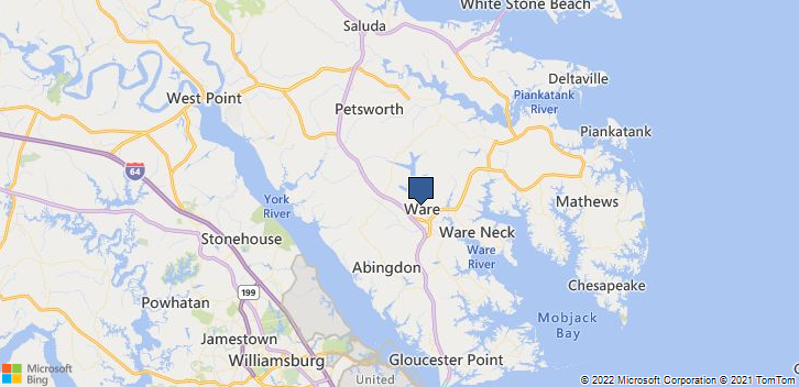 Gloucester, VA, 23061 Map
