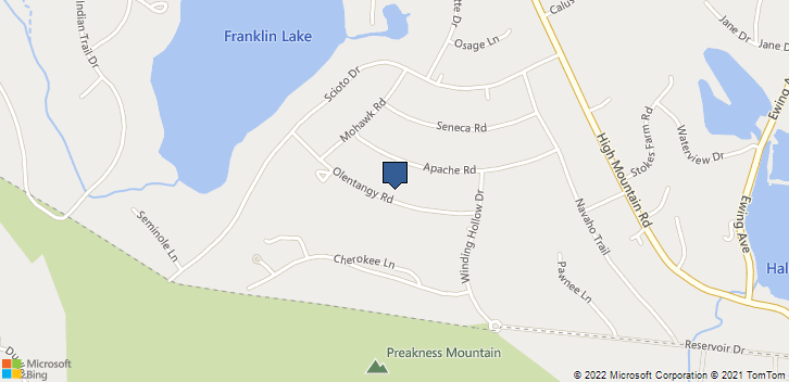 891 Olentangy Road Franklin Lakes, NJ, 07417 Map