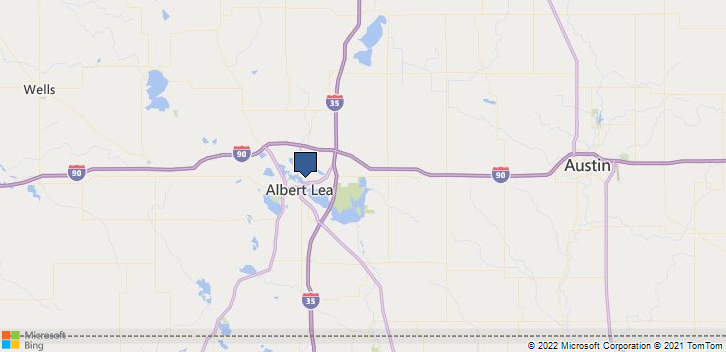 Albert Lea, MN, 56007 Map